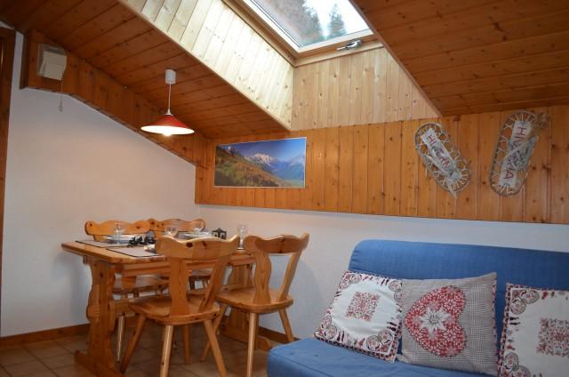 Appartement n°13 B dans résidence les Voinettes, séjour Châtel