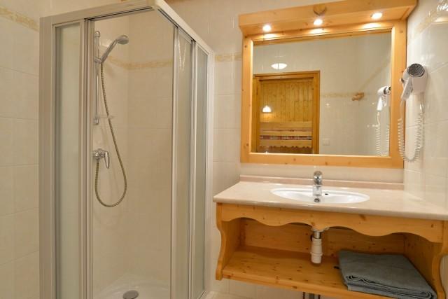 Appartement n°3 dans résidence le Blanchot, Salle de douche, Châtel