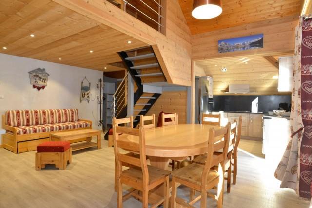 Appartement n°4 chalet L'EPICEA, Pièce de vie Châtel 2