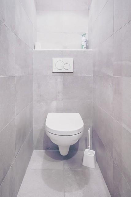 Appartement n°4 dans résidence Lou Candres, WC, Châtel Portes du Soleil