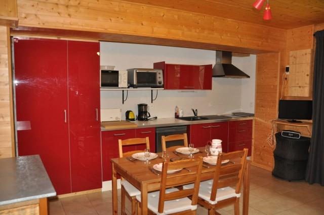 Appartement n°5 dans chalet les bouquetins, Cuisine Châtel