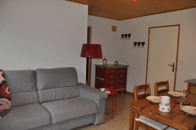 Appartement n°5 dans chalet les bouquetins, Salon Châtel Haute Savoie