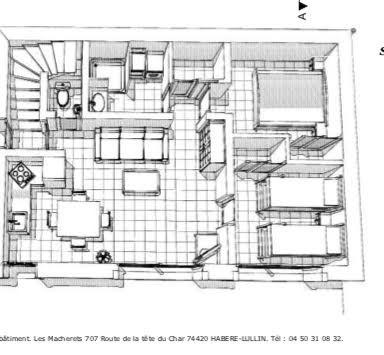 appartement oiseau de nuit plan Châtel