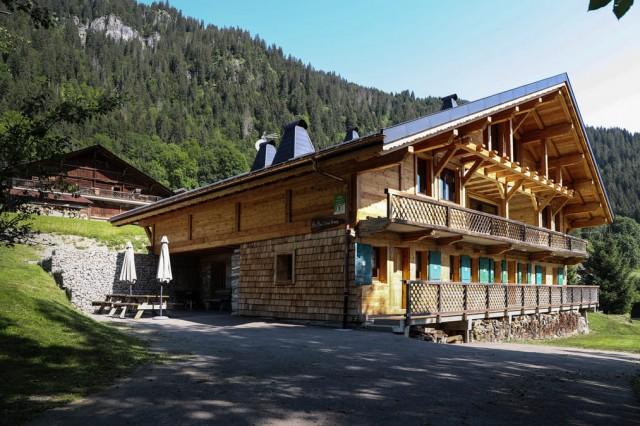 Chalet Au Bon vieux Temps  Terrasse Châtel Montagne