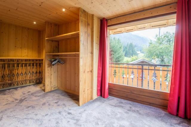Chalet CREUX DU NANT chambre vue Châtel 74390