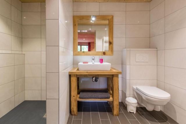 Chalet CREUX DU NANT salle de bain 3 Châtel 74
