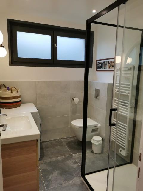 Chalet Domisiladoré, Salle de bain du rez de chaussée, Châtel