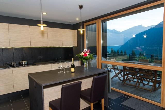 Chalet du Saix Cuisine Châtel Alpes du Nord
