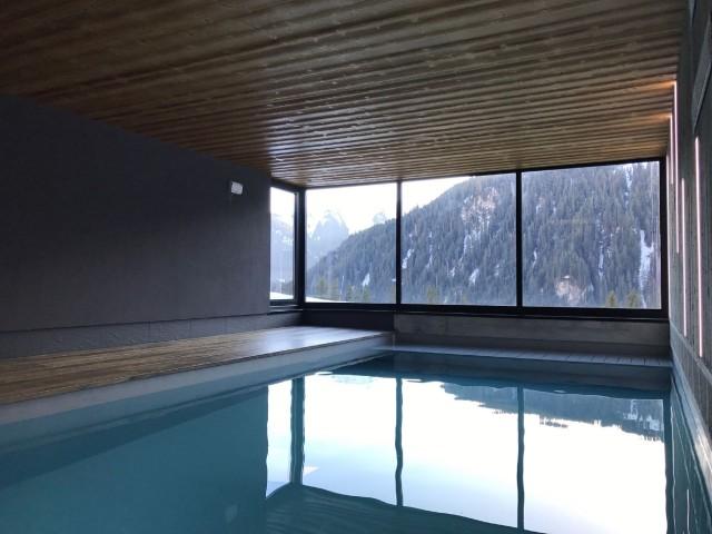 Chalet du Saix piscine intérieure Châtel Haute Savoie