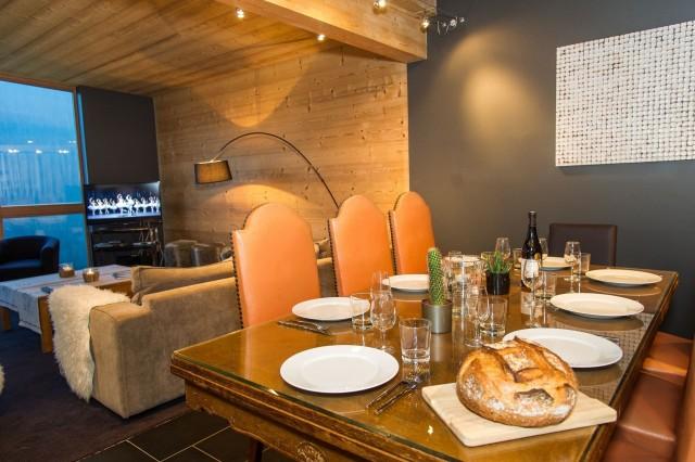 Chalet du Saix salle à manger Châtel Alpes du Nord