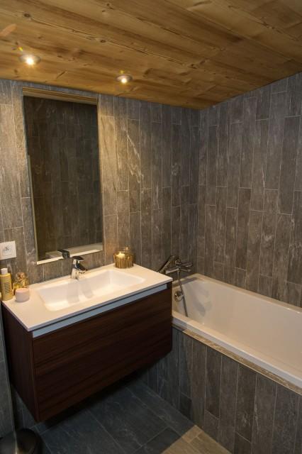 Chalet du Saix Salle de bain Châtel