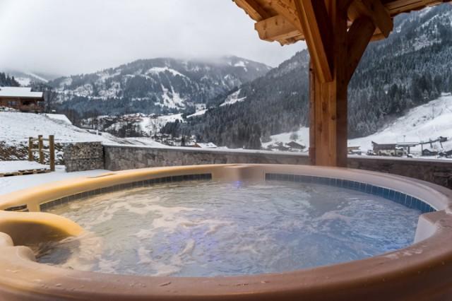 Chalet Emilie 15 personnes Châtel Hot tub