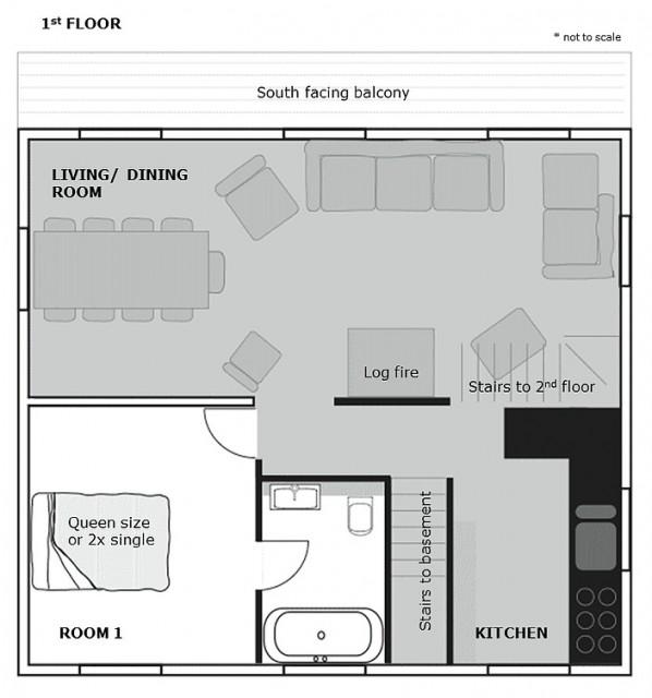 Chalet Isobel Plan Premier étage Châtel