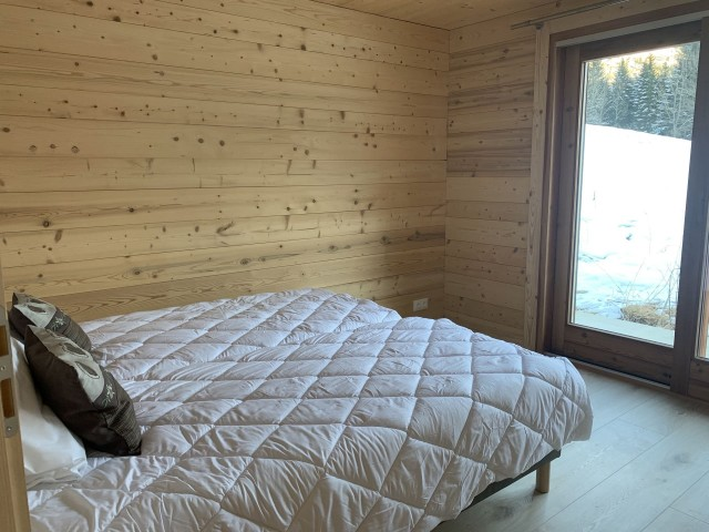 Chalet l'echo du morclan, Chambre 2 lits simples, Châtel