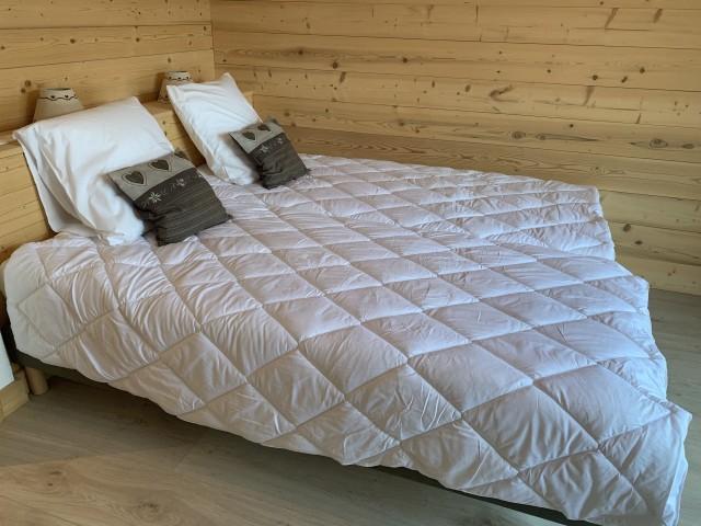 Chalet l'echo du morclan, Chambre 2 lits simples, Châtel Haute Savoie