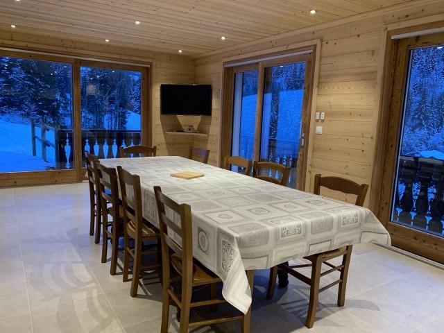 Chalet l'echo du morclan, Cuisine, Châtel Haute Savoie