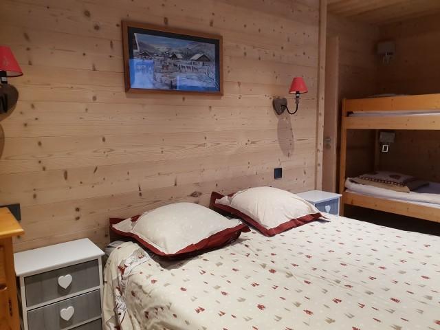 Chalet La Calèche 12 couchages chambre Châtel 74