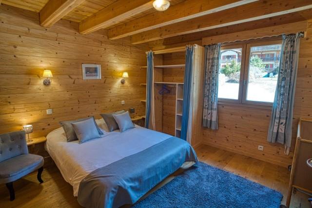 Chalet La Cascade chambre Châtel 2