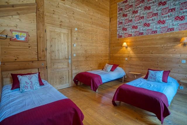 Chalet La Cascade chambre Châtel domaine skiable