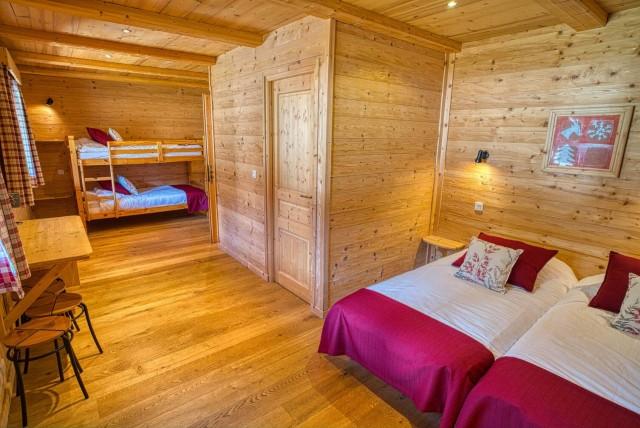 Chalet La Cascade chambre Châtel France