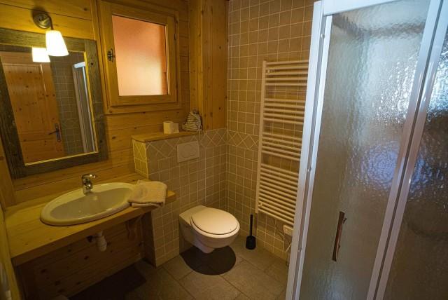 Chalet La Cascade salle de bain Châtel