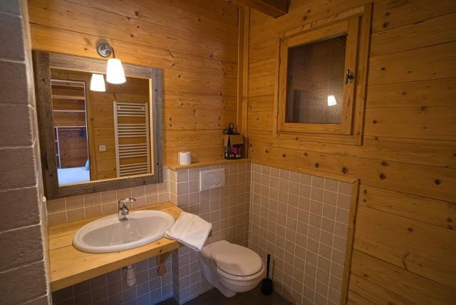 Chalet La Cascade salle de bain Châtel 74