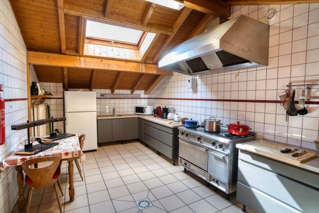 chalet la Savoyarde cuisine Châtel