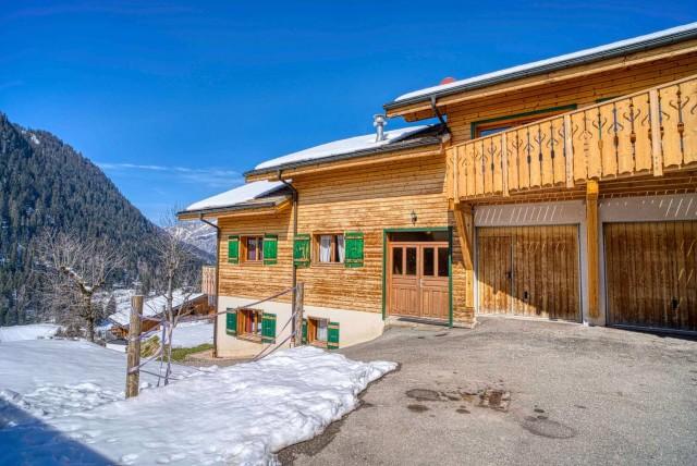 chalet la Savoyarde extérieur Châtel domaine skiable