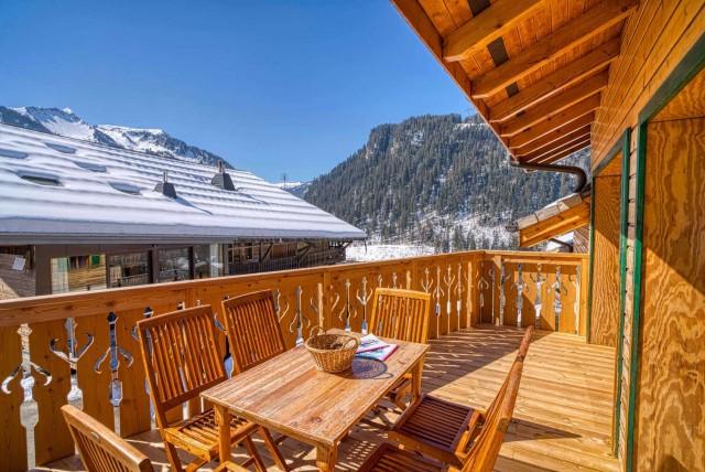 chalet la Savoyarde extérieur Châtel neige ski