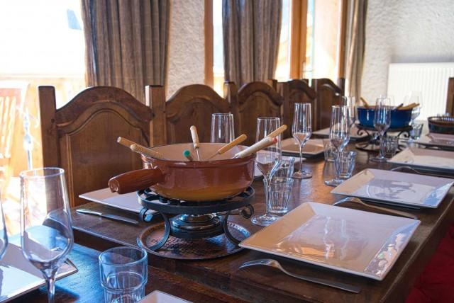 chalet la Savoyarde salon Châtel Raclette