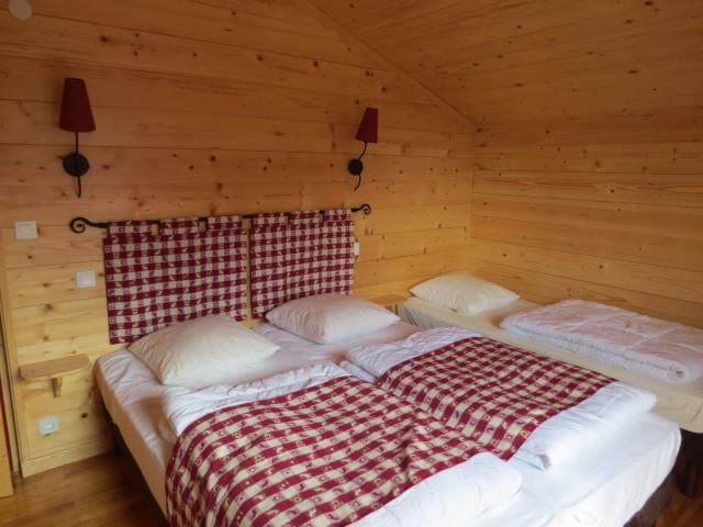 Chalet le Castor, Chambre 4 lits simples , Châtel