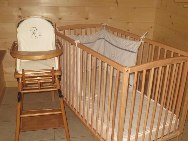 Chalet le Castor, équipement bébé, Châtel Portes du Soleil
