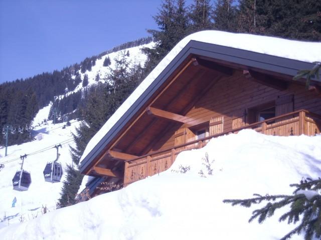 Chalet Le Cerf Chambre Extérieur Châtel Montagne 2