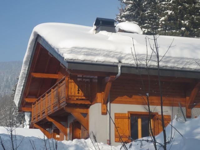 Chalet Le Cerf Chambre Extérieur Châtel Montagne