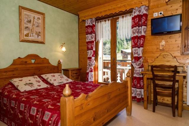 Chalet Le Petit Cornillon Chambre Châtel Haute-Savoie