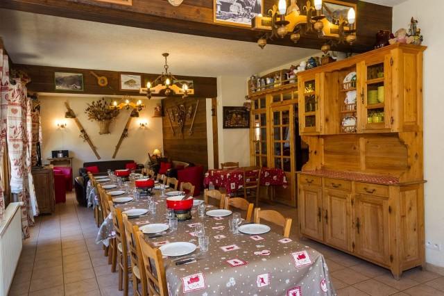 Chalet Le Petit Cornillon Salle à manger Châtel