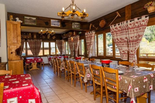 Chalet Le Petit Cornillon Salle à manger Châtel Haute-Savoie