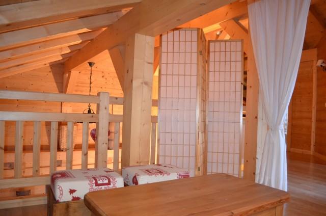 Chalet le ramoneur savoyard, Mezzanine, Châtel Haute Savoie
