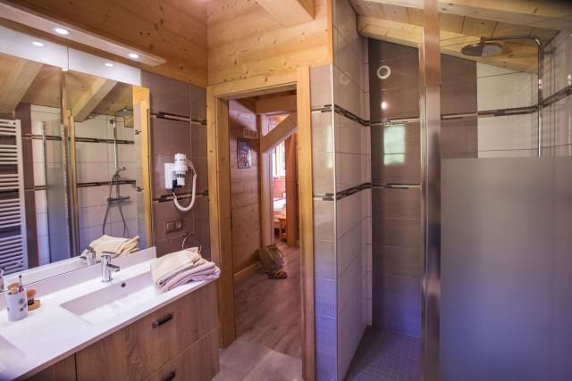 Chalet le Savoyard, Salle de douche n°2, Châtel Portes du Soleil