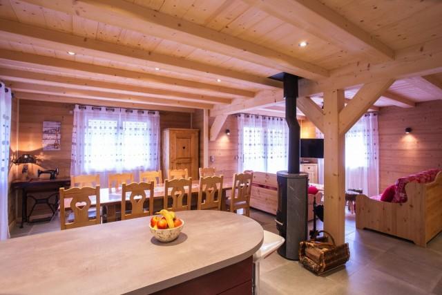 Chalet le Savoyard, Séjour, Châtel Haute Savoie