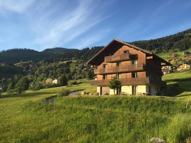 Chalet le Val d'Or en été, Châtel