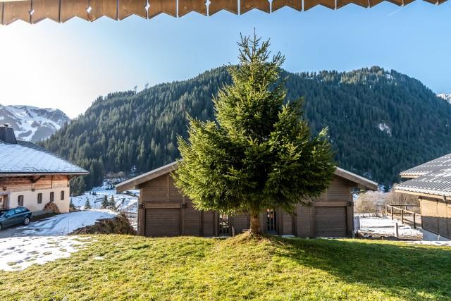 Chalet le Val d'Or en été, Châtel Haute Savoie