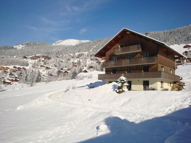 Chalet le Val d'Or en hiver, Châtel