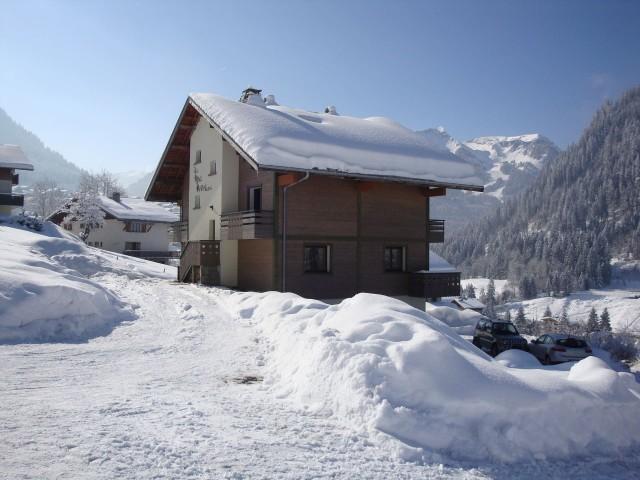 Chalet le Val d'Or en hiver, Châtel Portes du Soleil