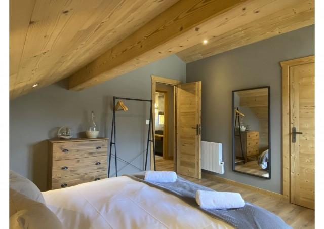 Chalet les 3 ours chambre avec 1 lit double Châtel Haute Savoie