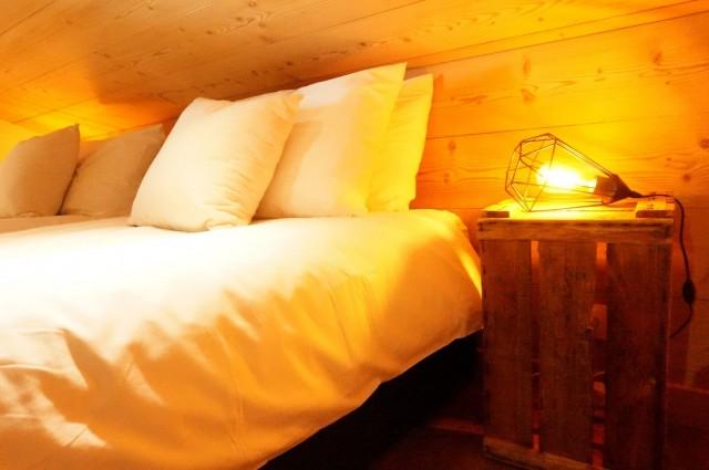 Chalet les 3 ours chambre avec 2 lits simples Châtel Haute Savoie