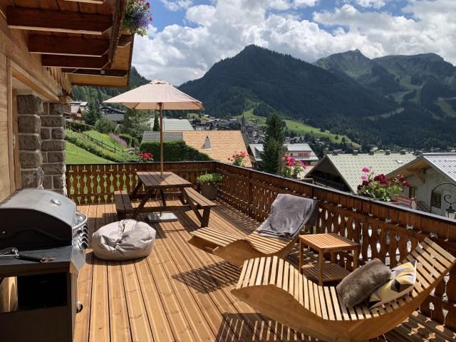 Chalet les 3 ours terrasse Châtel Haute Savoie