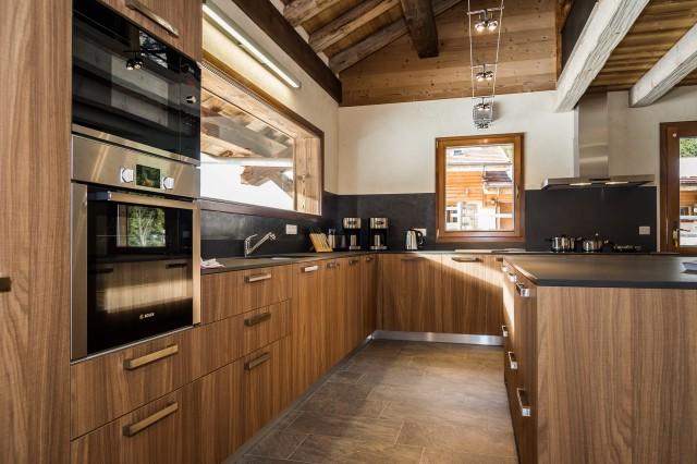 Chalet les Bucherons, Cuisine, Châtel Alpes du Nord