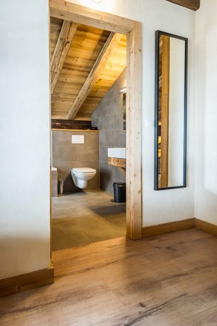 Chalet les Bucherons, Salle de bain sur la mezzanine, Châtel Portes du Soleil