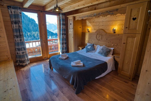 chalet les deux vallées chambre Châtel domaine skiable